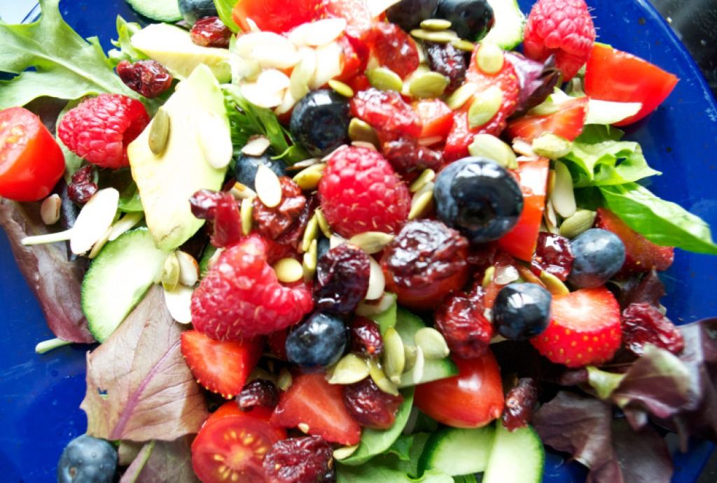 Fruity Salad.